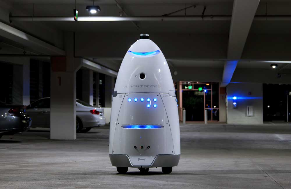 The Robot Crime Fighters of the Future Are Here