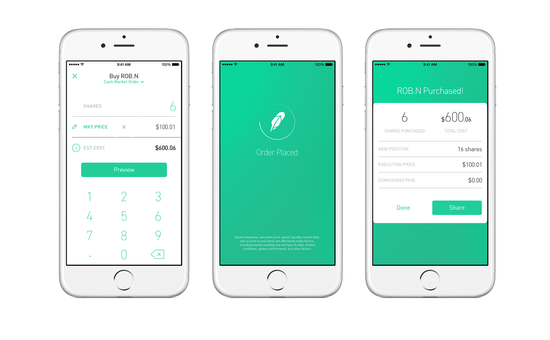 robinhood app user experience