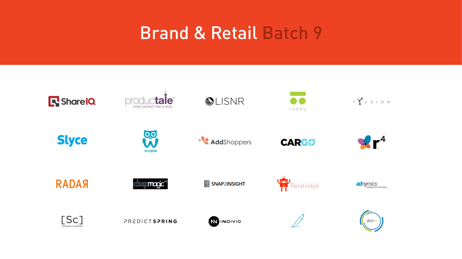 plug and play retail startups