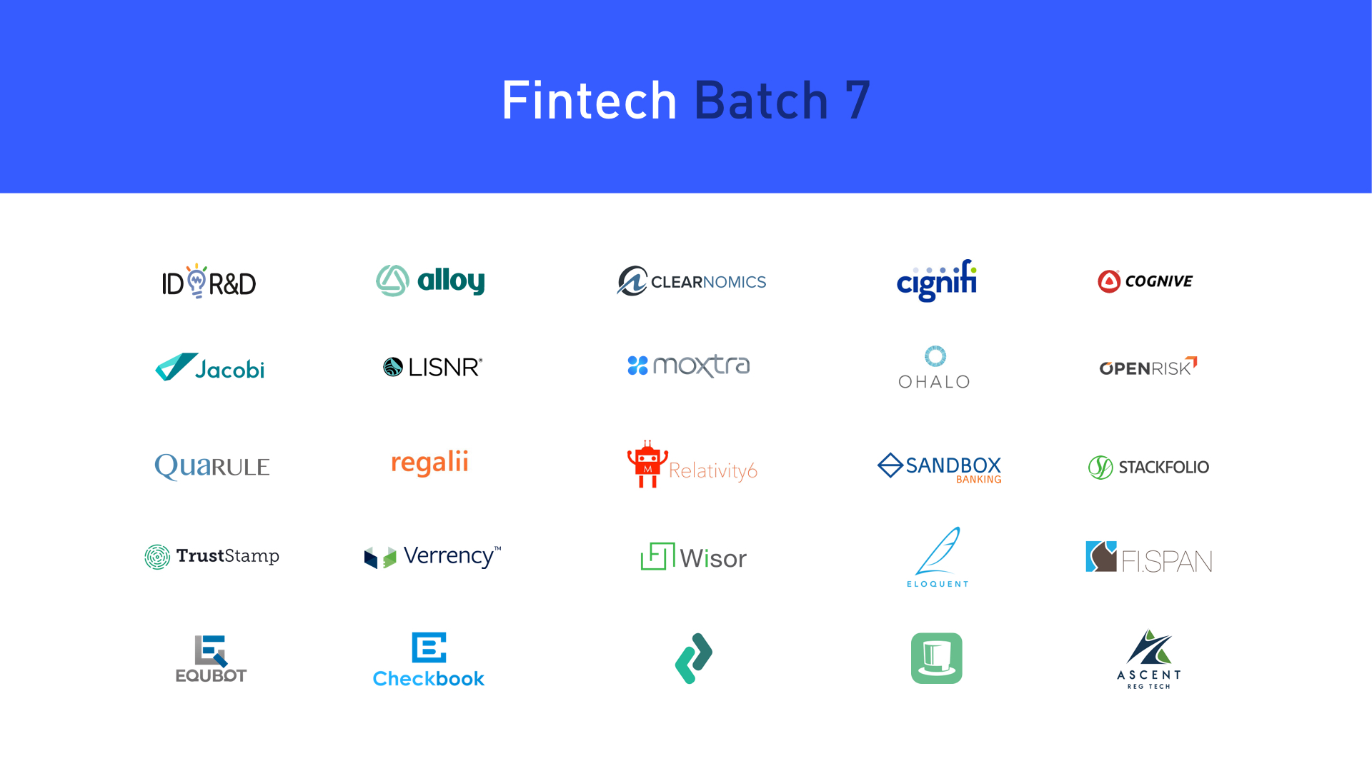 Plug and Play Fintech startups