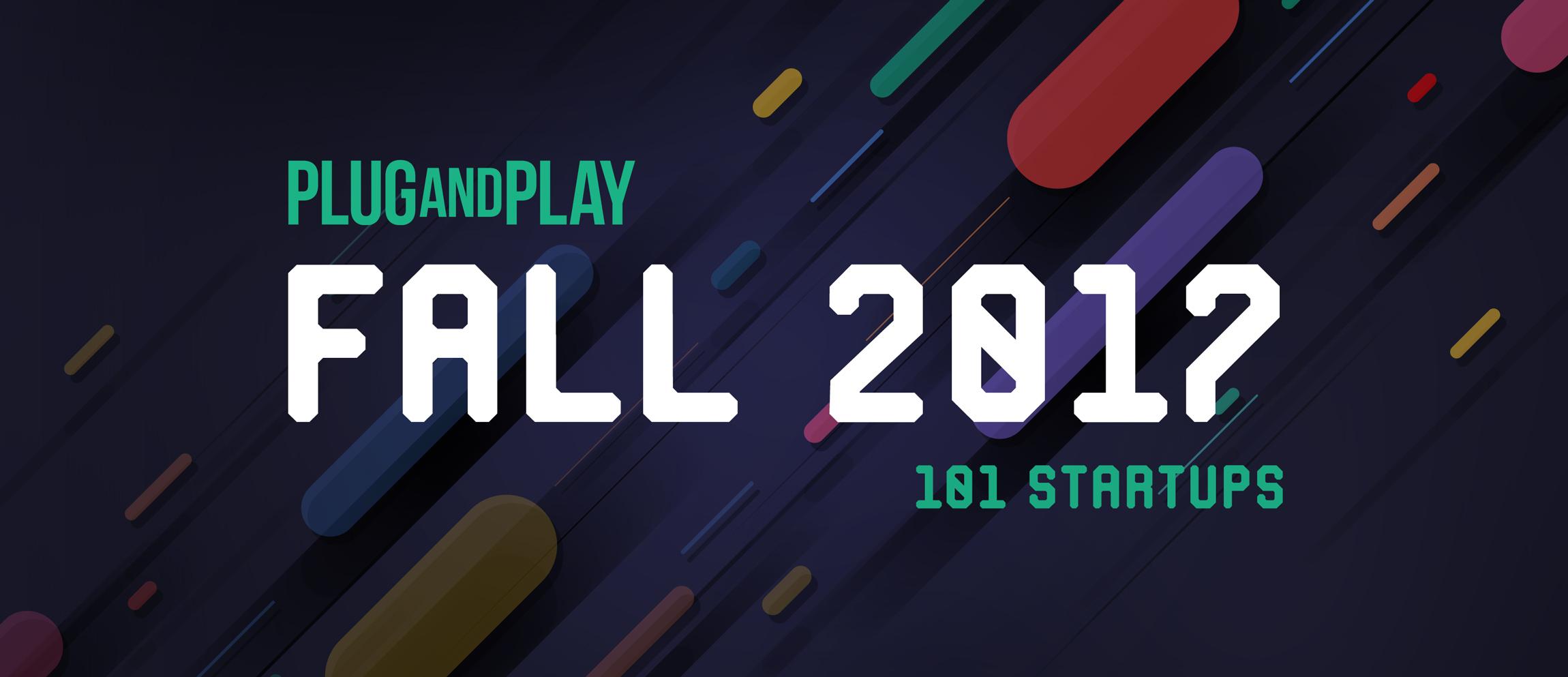 plug and play fintech 2017 startups